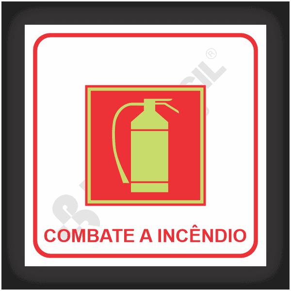 Placas de Sinalização de Combate a Incêndio