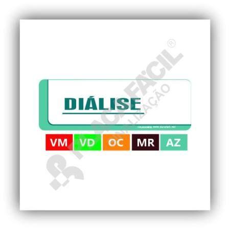 Placa Hospitalar Diálise