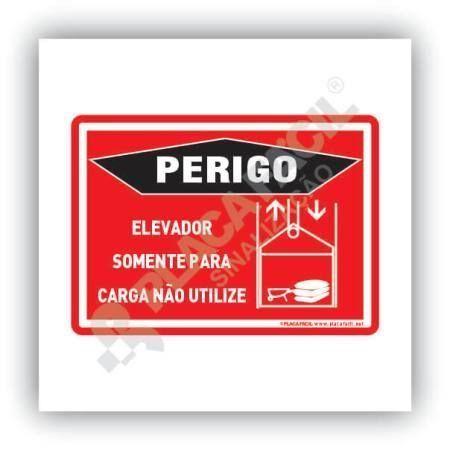 Placa para Elevador de Carga