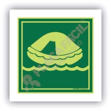 Placa Naval Balsa Salva-Vidas