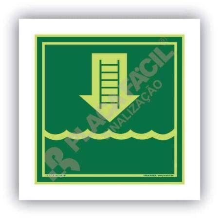 Placa Naval Escada de Embarcação
