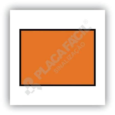 Placa Simbologia de Risco Classificação ONU