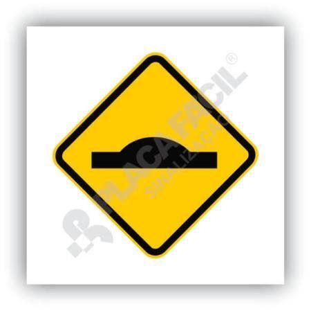 Placa Saliência ou Lombada