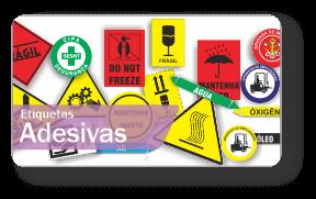 Placas de Sinalização Etiquetas Adesivas