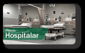 Placas de Sinalização Hospitalar