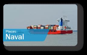 Placas de Sinalização Naval