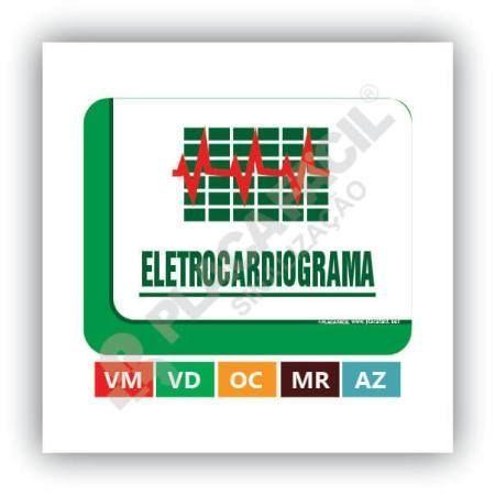 Placa De Sinalização Eletrocardiograma