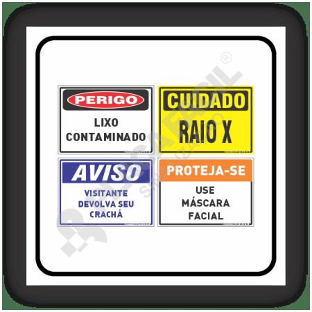 Placas PVC 18x25 / 35x25 / 35x50 / 50x70 cm